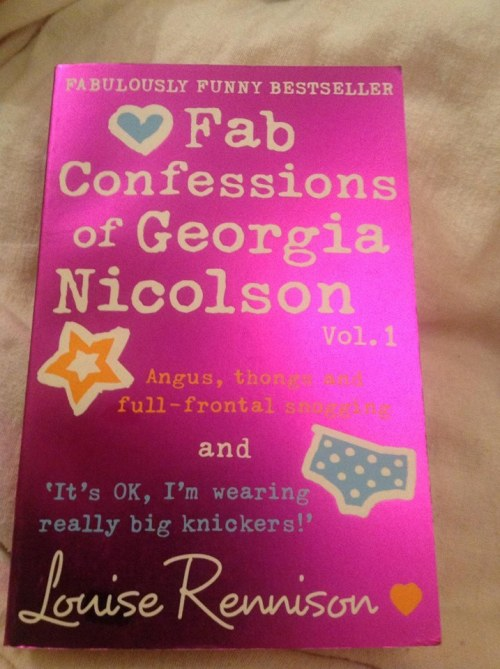 Georgia Nicolson book