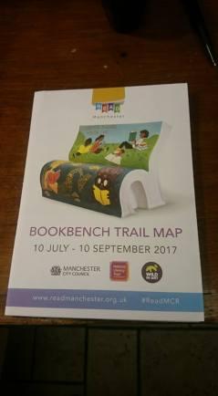 Bookbench trail map